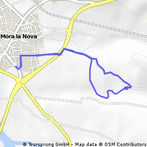 Mora La Nova-Ermita-Mora La Nova