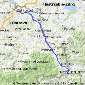 Czeska Granica 2016 - dzień 1 (Górski) - Trójstyk-Bohumin