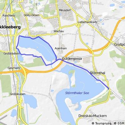 Rund um den Markleeberger See