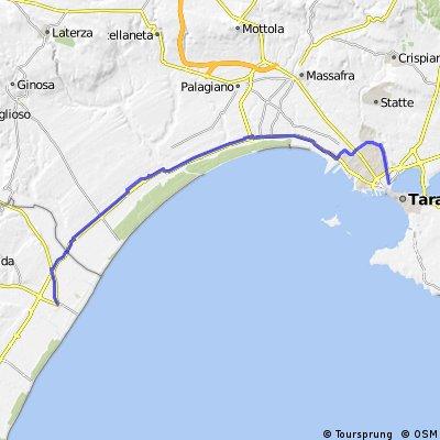 Taranto Tamburi - Metaponto