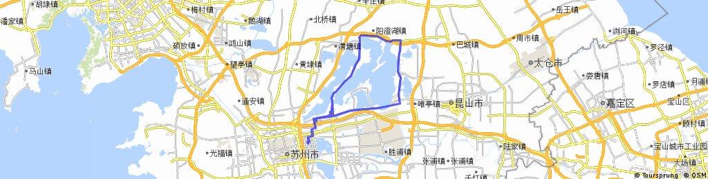 Yangchenghu Basic Loop - Suzhou, China