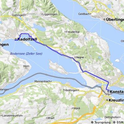 Bodensee-Radweg, Etappe 8