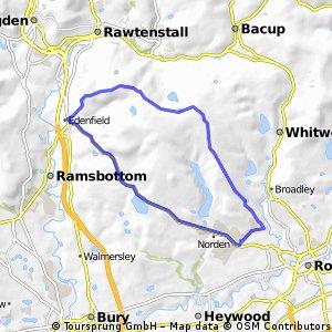 ride through Rochdale
