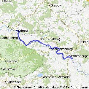 Dömitz - Wittenberge