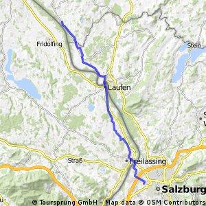 Radfahren 32,8km 2Std relaxt