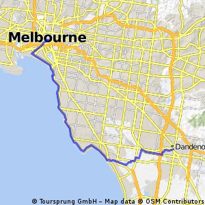 Dandenong to Flinders St
