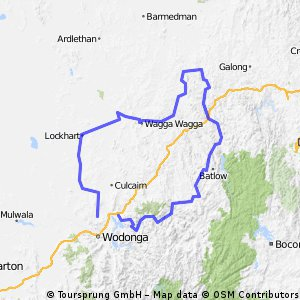 The Road to Gundagai: A loop route through southern NSW