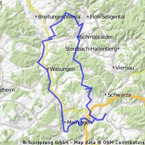 Dillstädt-MGN-Zwick-Nüßleshof-Weidebrunn-SM-Grasberg-Dolmar-Dillstädt