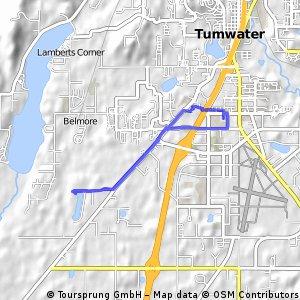bike tour through Tumwater