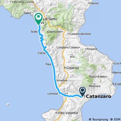 Giro d'Italia 2016 Stage 4: 191 km Catanzaro - Praia a Mare