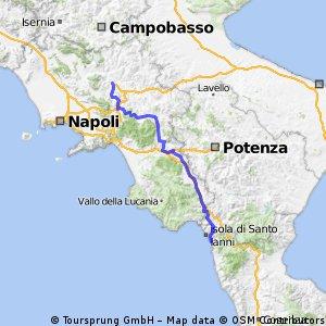 Giro d'Italia 2016 Stage 5: 233 km Praia a Mare - Benevento