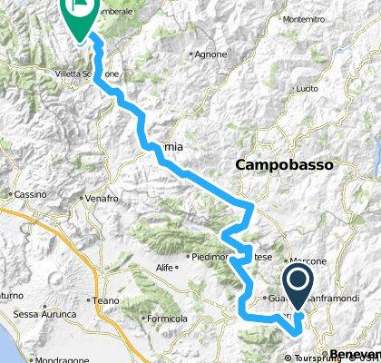 Giro d'Italia 2016 Stage 6: 185 km Ponte - Roccaraso