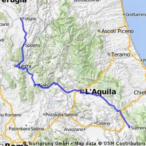 Giro d'Italia 2016 Stage 7: 210 km Sulmona - Foligno