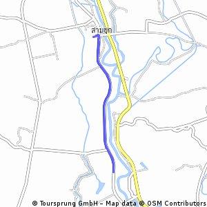 ride from Pastviny to Sam Chuk