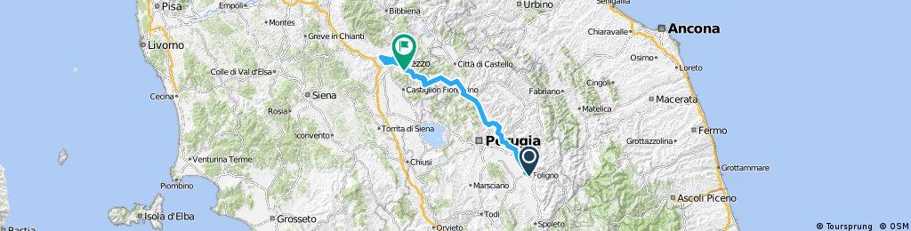 Giro d'Italia 2016 Stage 8: 169 km Foligno - Arezzo