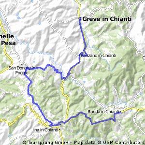 Giro d'Italia 2016 Stage 9: 40.4 km Radda in Chianti - Greve in Chianti
