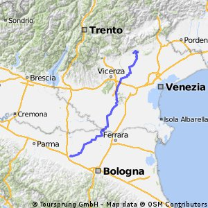 Giro d'Italia 2016 Stage 11: 212 km Modena - Asolo
