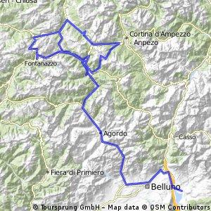 Giro d'Italia 2016 Stage 14: 210 km Alpago (Farra) - Corvara