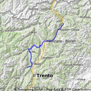Giro d'Italia 2016 Stage 16: 133 km Bressanone/Brixen - Andalo