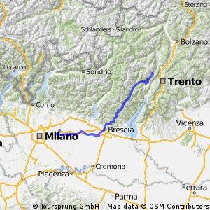 Giro d'Italia 2016 Stage 17: 196 km Molveno - Cassano d'Adda