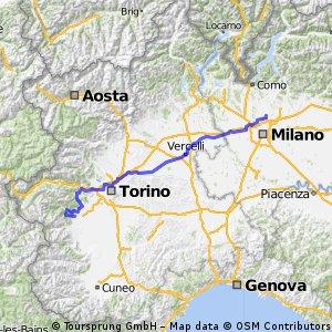 Giro d'Italia 2016 Stage 18: 234 km Muggiò - Pinerolo