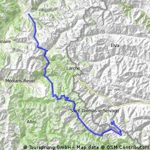Giro d'Italia 2016 Stage 20: 134 km Guillestre - Sant'Anna di Vinadio