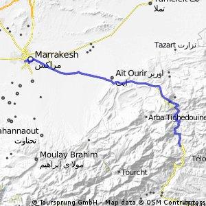 Afra to Marrakesh