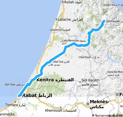 Premier voyage 11 : Chefchaouen – Rabat