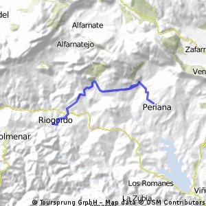 RIOGORDO-PERIANA (ida/vuelta)