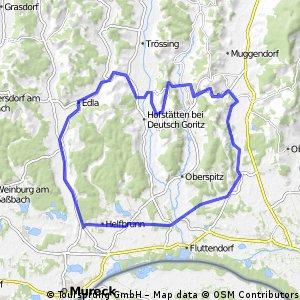 Kronnersdorf - Ottersbachmühle - Kronnersdorf