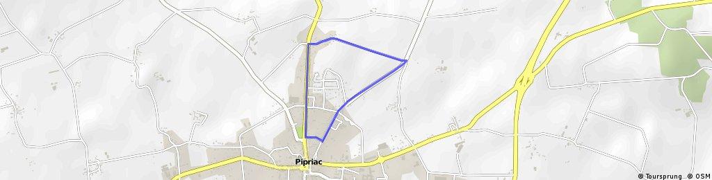 Circuit course cycliste Pipriac