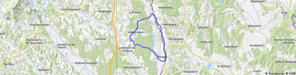 Radtour zur Lafnitz