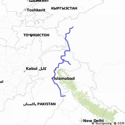 Kashgari-Gilgit-lahore-Amritar