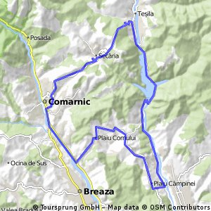 Nistoresti - Vistieru - Sotrile - Seciuri - Secaria - Comarnic