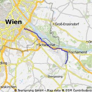 Weg in die Arbeit, Erdbergstraße 1030 Wien