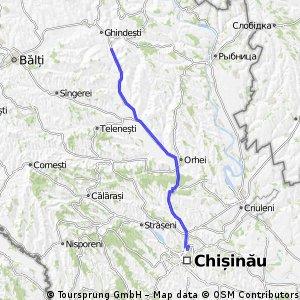 Chisinau-Domulgeni-Chisinau
