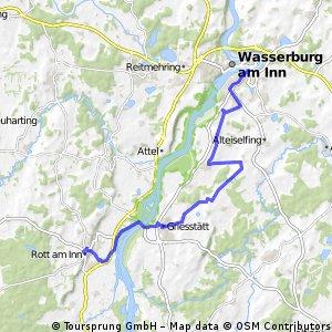 Rott nach Wasserburg