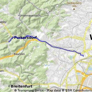 Radrunde von Wien nach Purkersdorf