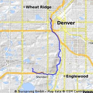 bike tour through Denver