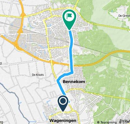 Short ride from Wageningen to Ede