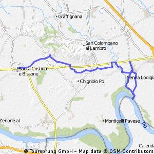 S.Cristina - Orio Litta - tappa Via Francigena