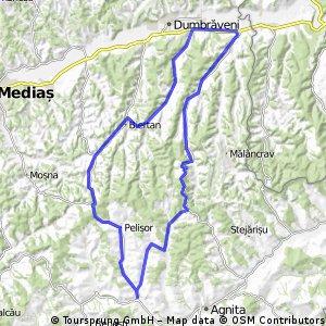 Tura 1 = 75 km