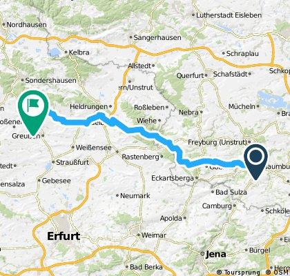 Von Naumburg nach Kirchengel