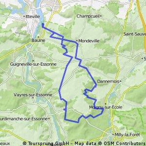 baulne sud 38 KM