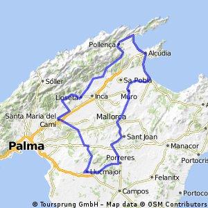 Mallorca (Alcudia - Llucmajor)