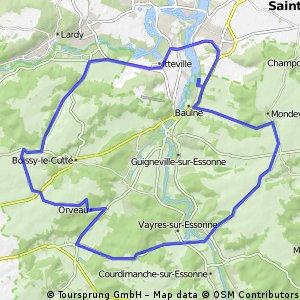 baulne route 47 km