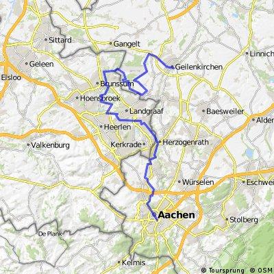 Bicycle route planner Aachen I Bikemap Top bike routes Bikemap
