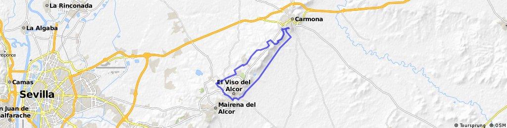 Ruta 1. El Viso del Alcor - Carmona.
