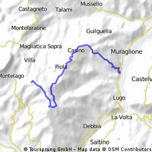 Statale 486 - Costa Alta di Valestra