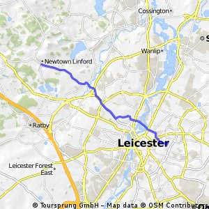 Leicester - Newtown Linford